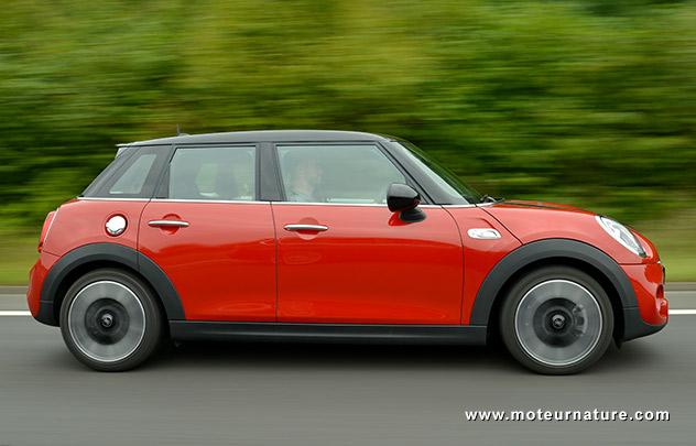 Les roues vertes de MoteurNature : Mini 1.5 D 116 ch Cooper D 5 portes