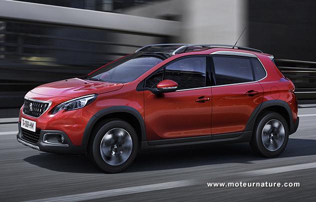 Les roues vertes de MoteurNature : Peugeot 2008 1,2l Allure PureTech 130 S&S BVM6