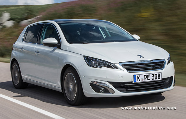 Les roues vertes de MoteurNature : Peugeot 308 Active 1,6L BlueHDi 120 S&S EAT6