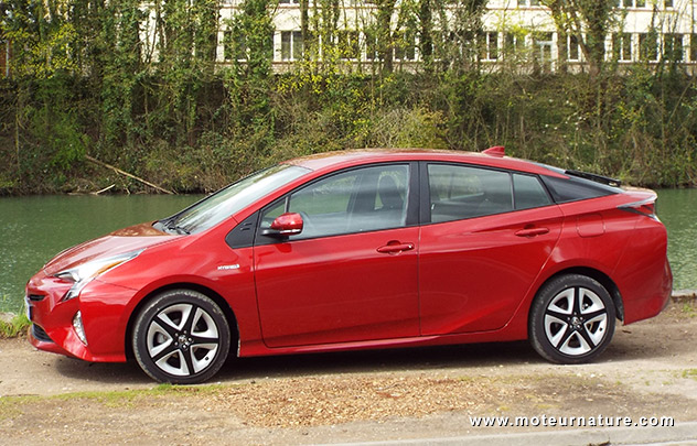 Les roues vertes de MoteurNature : Toyota Prius