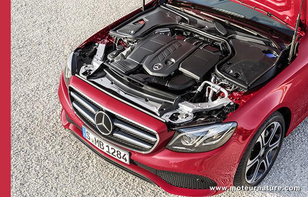 Moteur diesel Mercedes