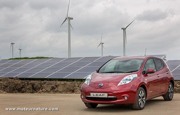 Energies renouvelables chez Nissan