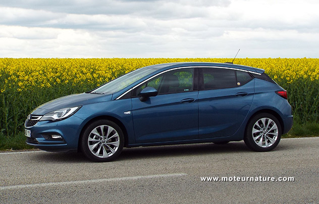 Opel Astra 1.0 L 105 ch EcoFlex