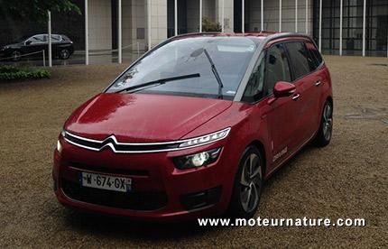 Citroën C4 Picasso autonome