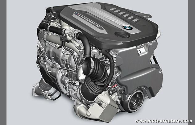 6 cylindres de la BMW 750d