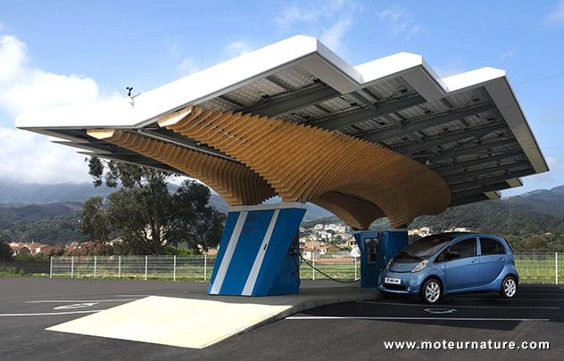 Parking solaire Peugeot