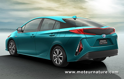 Toyota Prius plug-in hybride rechargeable