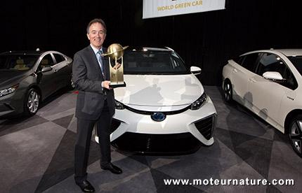 La Toyota Mirai est World Green Car