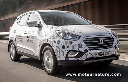 Hyundai Fuel Cell Electric Vehicle