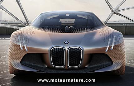 bmw vision next 100 une voiture de demain qui n 39 est pas pour nous. Black Bedroom Furniture Sets. Home Design Ideas
