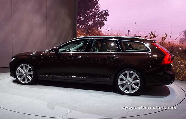 Volvo V90 hybride rechargeable
