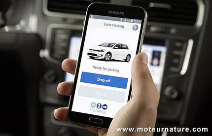 V-Charge projet de parking et de recharge autonome