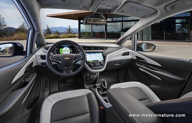 Chevrolet Bolt électrique