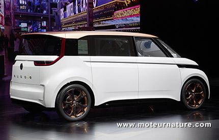 Volkswagen BUDD-e electric concept