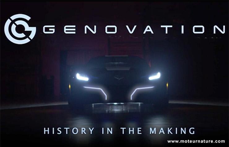 Corvette électrique par Genovation