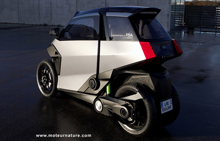Peugeot Efficient Urban Light VEhicle