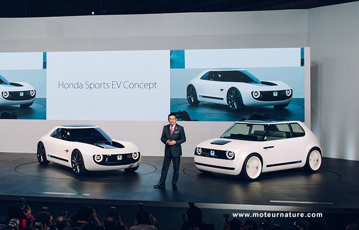 Voitures électriques Honda
