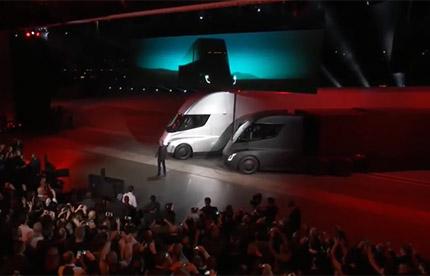 Présentation du Tesla Semi