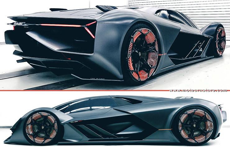 Concept Lamborghini Terzo Millenio