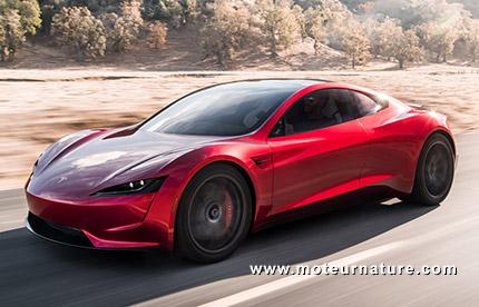Tesla Roadster électrique 2020
