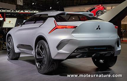 Concept Mitsubishi e-Evolution électrique