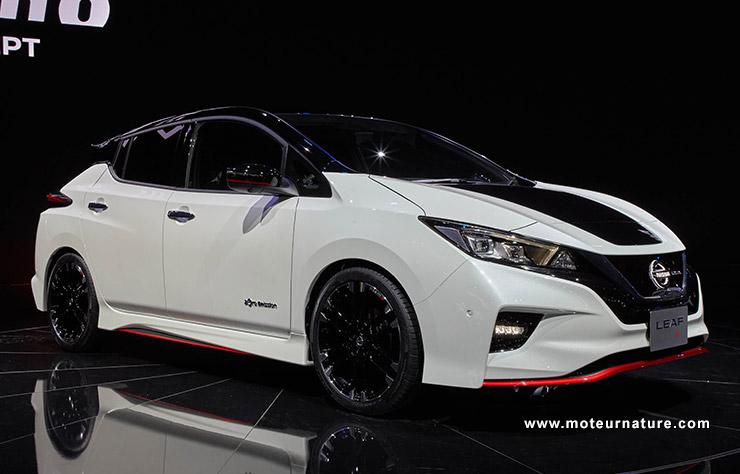 Concept Nissan Leaf Nismo