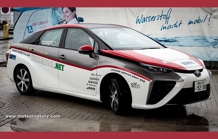 Toyota annonce l 39 hybride hydrog ne sans suppl ment for Voyage sans supplement chambre individuelle