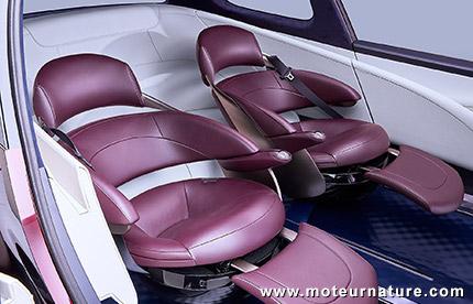 Concept Toyota Fine-Comfort Ride à hydrogène