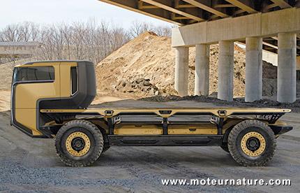 GM Silent Utility Rover Universal Superstructure à hydrogène