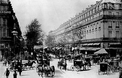 Paris en 1880