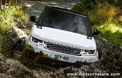 Range Rover Sport hybride rechargeable