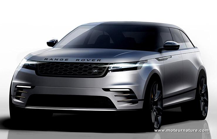 Esquisse Range Rover