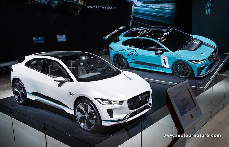 Jaguar i-Pace, version de série et de compétition