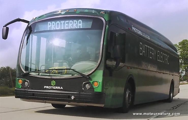 Autobus électrique Proterra