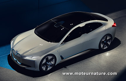 BMWi vision dynamics concept électrique