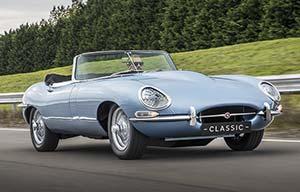 La Jaguar TypeE électrifiée... Par Jaguar