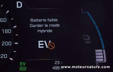 Hyundai Ioniq hybride plug-in