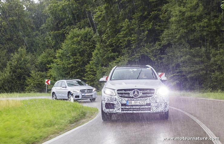 Mercedes GLC F-Cell à hydrogène