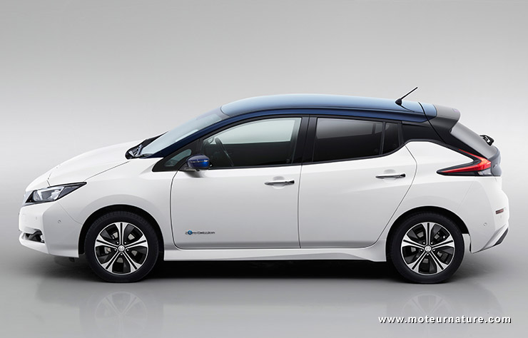 nissan leaf ii le nouvel talon lectrique. Black Bedroom Furniture Sets. Home Design Ideas