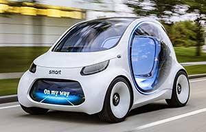 smart vision EQ FORTWO: le remède aux transports en commun