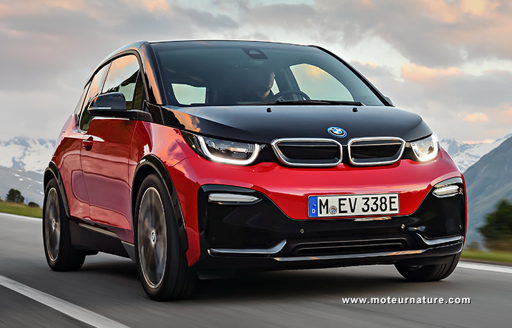 bmw i3s avec 184 ch pour plus de plaisir. Black Bedroom Furniture Sets. Home Design Ideas