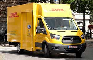 DHL/Deutsche Post va s'équiper de 2500 Ford Transit électriques