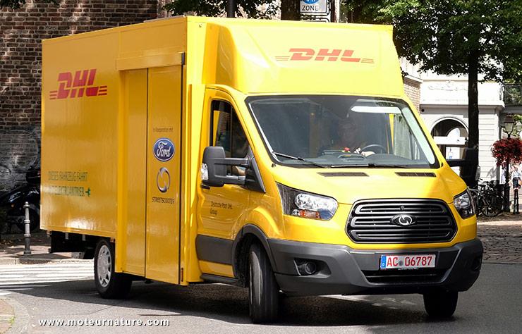 Ford Transit électrique pour la poste allemande