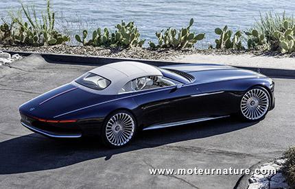 Vision Mercedes Maybach Six cabriolet électrique