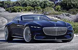 Concept Vision Six de Mercedes Maybach