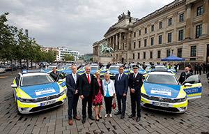 La Volkswagen Passat GTE séduit la police