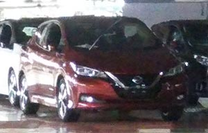 Nissan Leaf 2018: chiffres et images