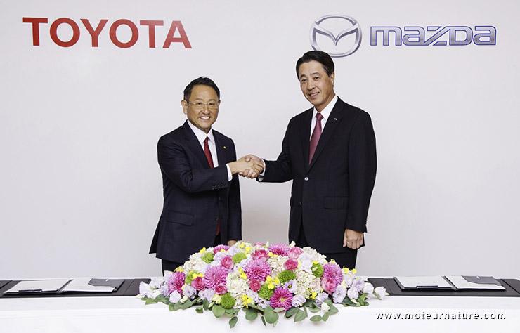 Toyota et Mazda