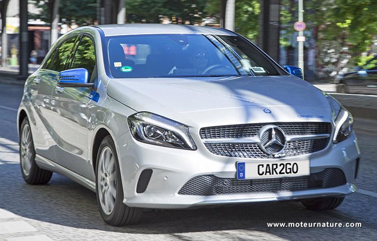 Mercedes car2go