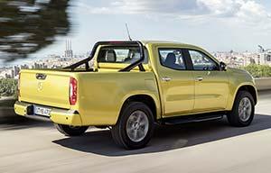 La Mercedes classeX affirme le besoin de diesel